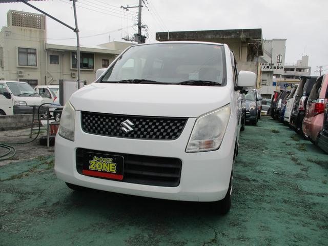 沖縄の中古車 スズキ ワゴンR 車両価格 34万円 リ済込 2010(平成22)年 9.0万km ホワイト