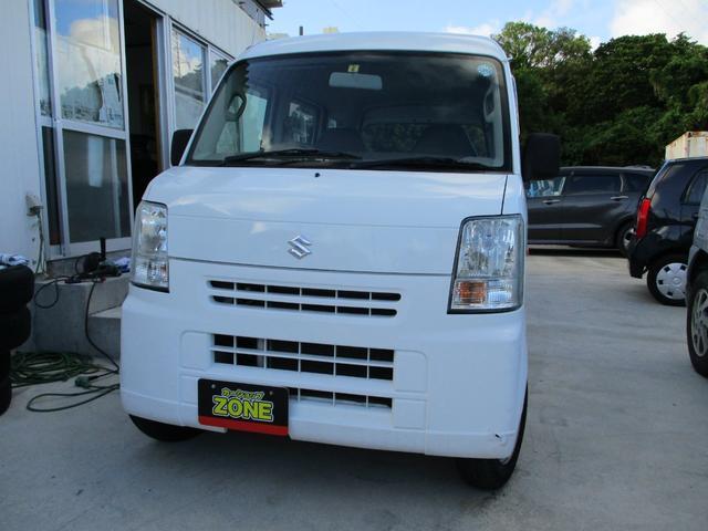 沖縄の中古車 スズキ エブリイ 車両価格 39万円 リ済込 2006(平成18)年 6.6万km ホワイト