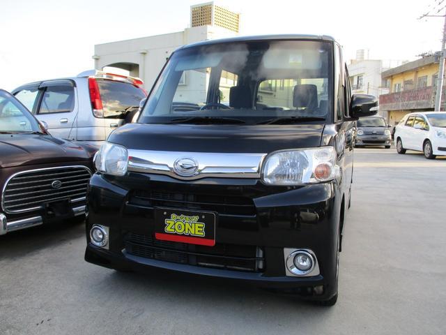 沖縄の中古車 ダイハツ タント 車両価格 50万円 リ済込 2012(平成24)年 7.4万km ブラックM