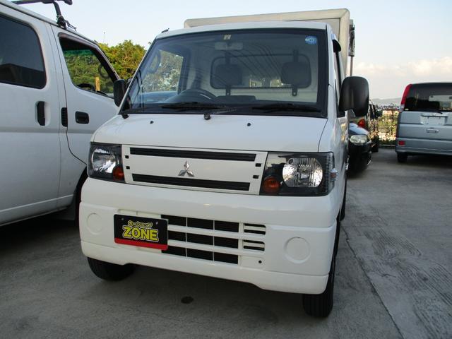 沖縄の中古車 三菱 ミニキャブトラック 車両価格 45万円 リ済込 2011(平成23)年 11.8万km ホワイト