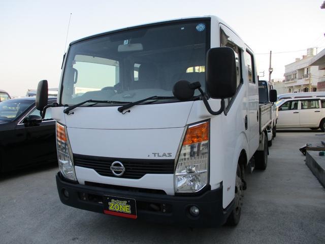 沖縄県沖縄市の中古車ならアトラストラック WキャブフルスーパーローDX