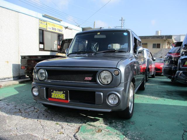沖縄の中古車 スズキ アルトラパン 車両価格 44万円 リ済込 2003(平成15)年 13.0万km グレーM