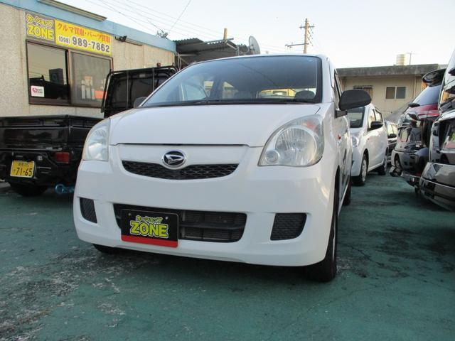 沖縄の中古車 ダイハツ ミラ 車両価格 25万円 リ済込 2008(平成20)年 4.5万km ホワイト