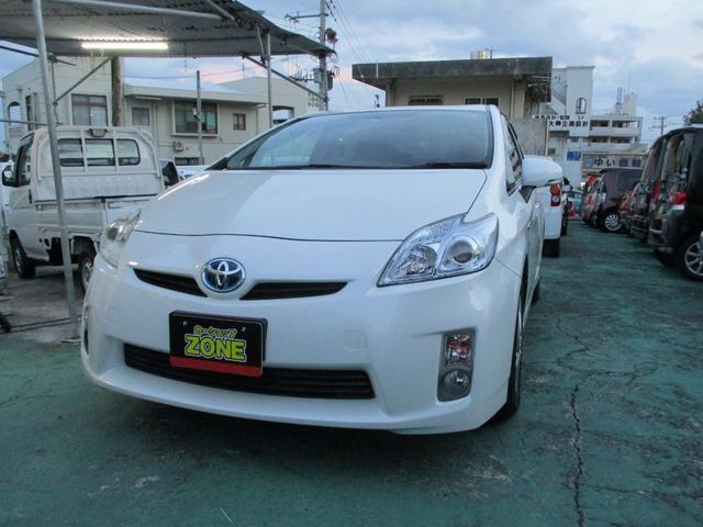 沖縄の中古車 トヨタ プリウス 車両価格 59万円 リ済込 2009(平成21)年 9.7万km パール