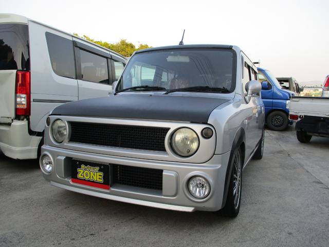 沖縄の中古車 スズキ アルトラパン 車両価格 55万円 リ済込 2005(平成17)年 11.0万km シルバーII