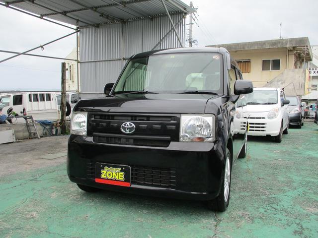 沖縄の中古車 トヨタ ピクシススペース 車両価格 39万円 リ済込 2012(平成24)年 10.7万km ブラックM