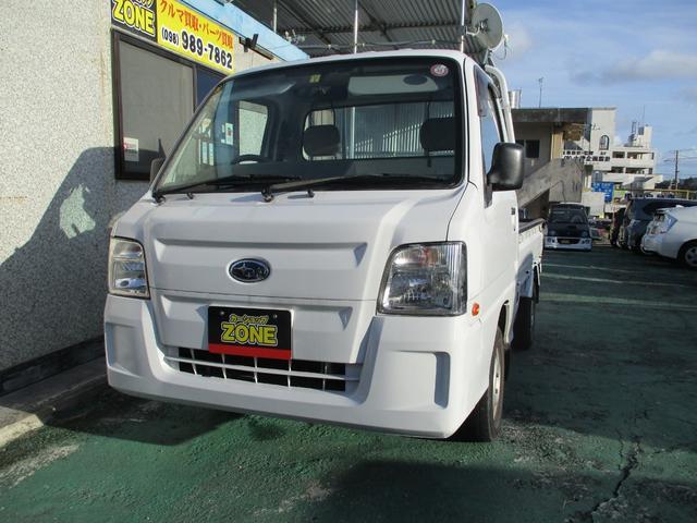 沖縄の中古車 スバル サンバートラック 車両価格 54万円 リ済込 2010(平成22)年 10.0万km ホワイト