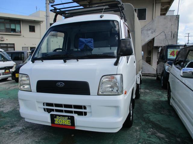 沖縄の中古車 スバル サンバートラック 車両価格 44万円 リ済込 2005(平成17)年 走不明 ホワイト