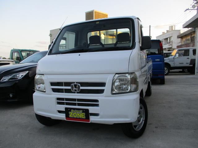 沖縄の中古車 ホンダ アクティトラック 車両価格 39万円 リ済込 2004(平成16)年 9.4万km ホワイト