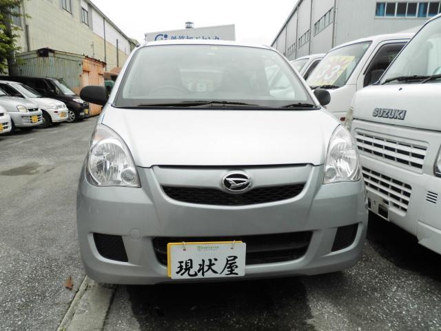 沖縄の中古車 ダイハツ ミラ 車両価格 34万円 リ未 2013(平成25)年 9.0万km シルバー