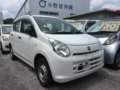 沖縄の中古車 スズキ アルト 車両価格 28万円 リ済込 平成23年 10.4万K スペリアホワイト
