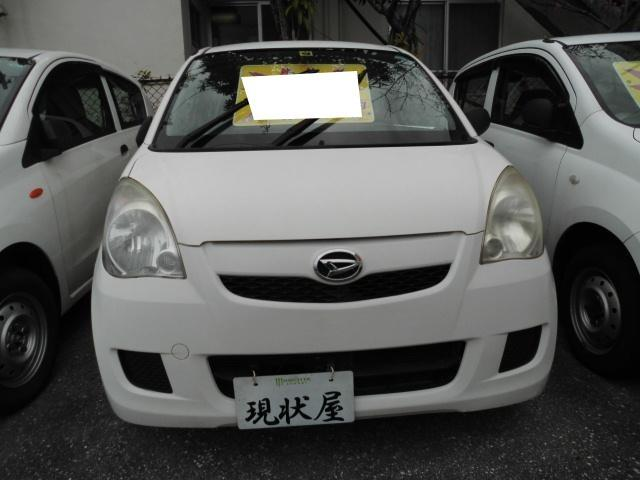 沖縄の中古車 ダイハツ ミラ 車両価格 28万円 リ済込 2008(平成20)年 7.2万km ホワイト