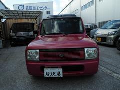 沖縄の中古車 スズキ アルトラパン 車両価格 28万円 リ済込 平成15年 12.6万K パールピンクレッド