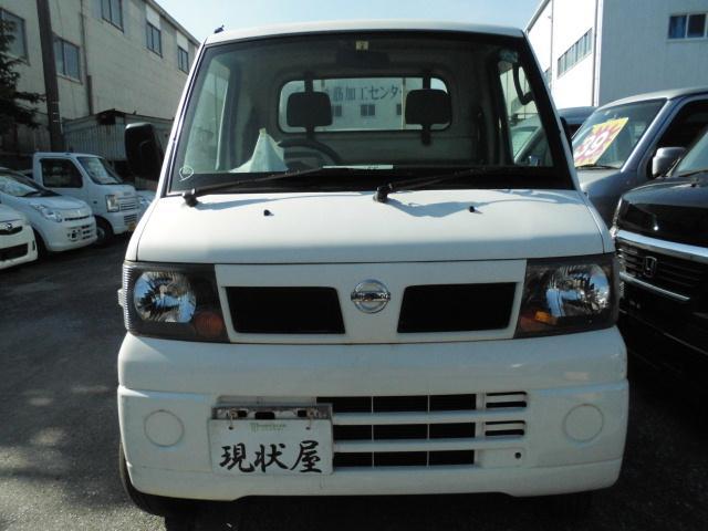 沖縄の中古車 日産 クリッパートラック 車両価格 24万円 リ済込 平成18年 14.6万km ホワイト