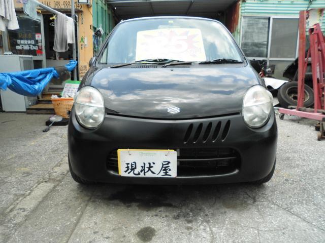 沖縄の中古車 スズキ ツイン 車両価格 24万円 リ済込 平成15年 14.4万km ホワイト