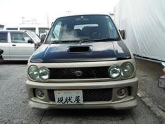 沖縄の中古車 ダイハツ ムーヴ 車両価格 6万円 リ済込 平成14年 18.5万K ゴールド