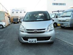 沖縄の中古車 ダイハツ ムーヴ 車両価格 24万円 リ済込 平成19年 13.6万K シルバー