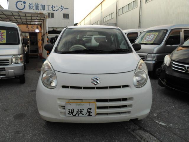 沖縄の中古車 スズキ アルト 車両価格 24万円 リ済込 平成22年 9.0万km ホワイト