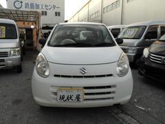 沖縄の中古車 スズキ アルト 車両価格 24万円 リ済込 平成22年 9.0万K ホワイト