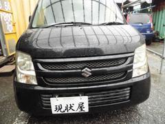 沖縄の中古車 スズキ ワゴンR 車両価格 28万円 リ済込 平成19年 13.2万K ブラック