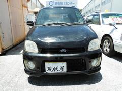 沖縄の中古車 スバル プレオ 車両価格 14万円 リ済込 平成16年 15.5万K ブラック