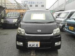 沖縄の中古車 ダイハツ ムーヴ 車両価格 24万円 リ済込 平成19年 12.0万K ブラック