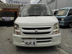 沖縄の中古車 スズキ ワゴンR 車両価格 18万円 リ済込 平成19年 28.0万K パール