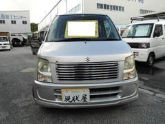 沖縄の中古車 スズキ ワゴンR 車両価格 14万円 リ済込 平成17年 6.6万K シルバー