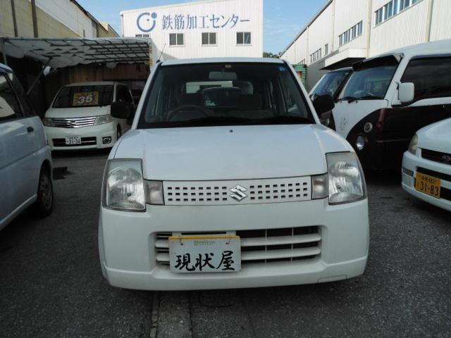 沖縄の中古車 スズキ アルト 車両価格 12万円 リ済込 平成17年 13.0万km ホワイト