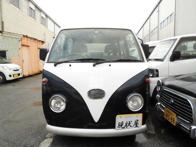 沖縄の中古車 スズキ エブリイ 車両価格 28万円 リ済込 平成9年 7.5万km 紺II