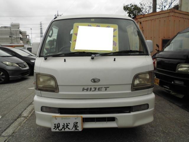 沖縄の中古車 ダイハツ ハイゼットトラック 車両価格 14万円 リ済込 平成12年 10.3万km ホワイト