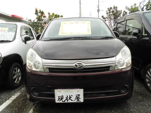 沖縄の中古車 ダイハツ ミラカスタム 車両価格 28万円 リ済込 平成20年 13.7万km ブラウン