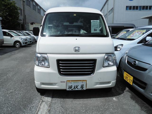 沖縄の中古車 ホンダ バモスホビオプロ 車両価格 39万円 リ済込 2012(平成24)年 13.9万km ホワイト