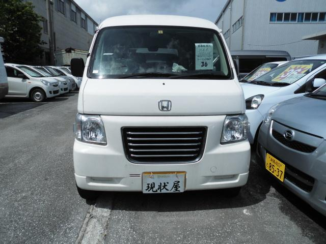沖縄の中古車 ホンダ バモスホビオプロ 車両価格 34万円 リ済込 2012(平成24)年 13.9万km ホワイト