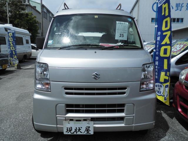 沖縄の中古車 スズキ エブリイ 車両価格 38万円 リ済込 2011(平成23)年 12.1万km シルバー