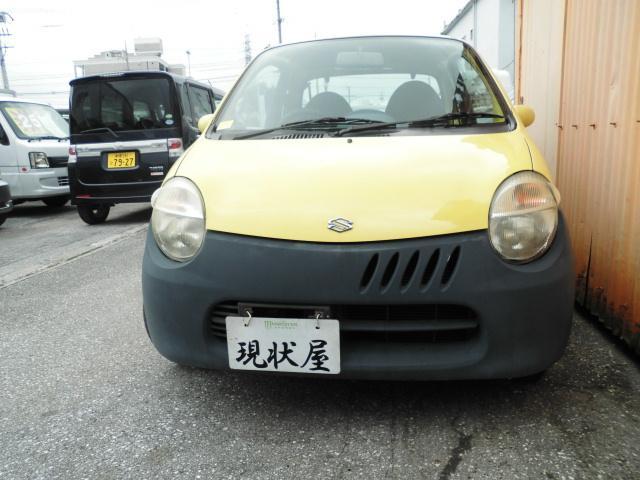 沖縄の中古車 スズキ ツイン 車両価格 38万円 リ済込 平成15年 13.2万km イエロー