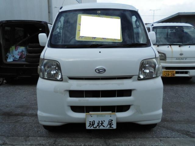 沖縄の中古車 ダイハツ ハイゼットカーゴ 車両価格 15万円 リ済込 2007(平成19)年 走不明 ホワイト