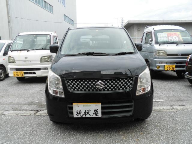 沖縄の中古車 スズキ ワゴンR 車両価格 34万円 リ済込 2010(平成22)年 14.0万km ブラック