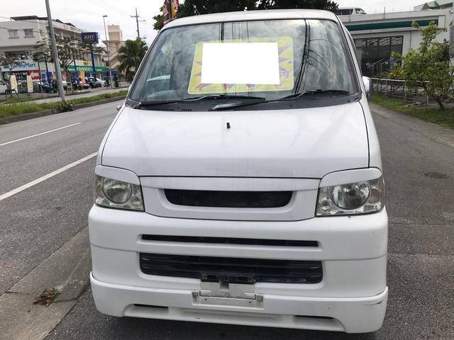 沖縄県沖縄市の中古車ならアトレーワゴン フルエアロ