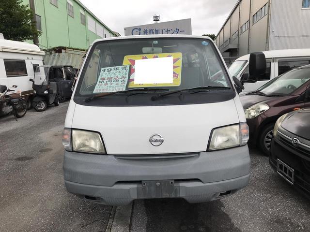 沖縄の中古車 日産 バネットバン 車両価格 28万円 リ済込 2007(平成19)年 13.2万km ホワイト