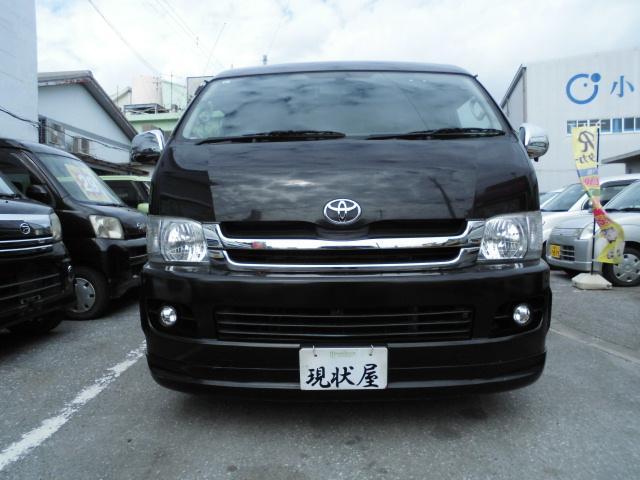 沖縄の中古車 トヨタ ハイエースワゴン 車両価格 179万円 リ済込 2009(平成21)年 9.3万km ブラック