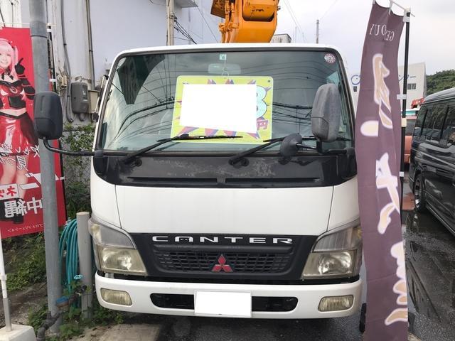 沖縄県の中古車ならキャンター  スカイマスター高所作業車 MT ディーゼル