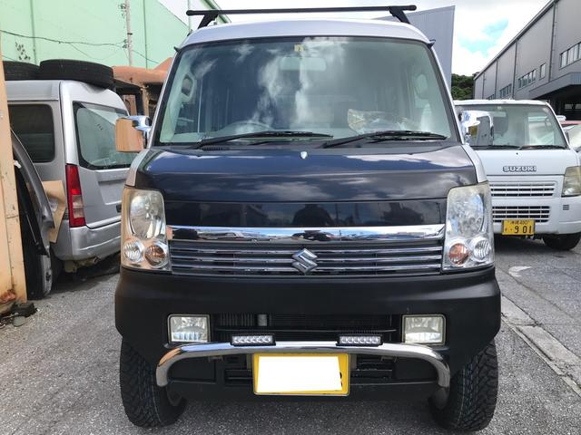 沖縄の中古車 スズキ エブリイ 車両価格 74万円 リ済込 2012(平成24)年 13.9万km シルキーシルバーメタリック
