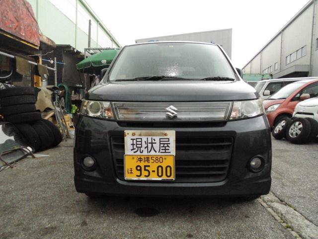 沖縄の中古車 スズキ ワゴンRスティングレー 車両価格 34万円 リ済込 2012(平成24)年 11.1万km ガンM