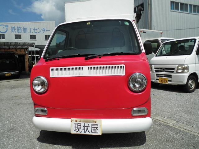 沖縄の中古車 スバル サンバートラック 車両価格 88万円 リ済込 2005(平成17)年 18.0万km ピンクII