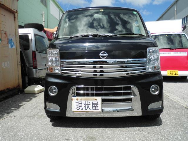 沖縄の中古車 日産 NV100クリッパーリオ 車両価格 78万円 リ済込 2015(平成27)年 9.0万km ブラックM