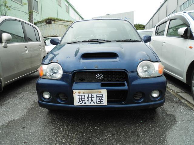 沖縄の中古車 スズキ アルトワークス 車両価格 ASK リ済込 2000(平成12)年 13.0万km ブルー