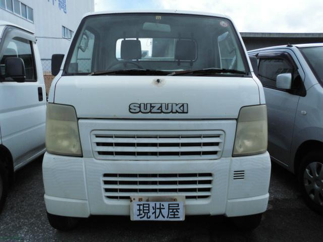 沖縄の中古車 スズキ キャリイトラック 車両価格 12万円 リ済込 2003(平成15)年 15.0万km ホワイト