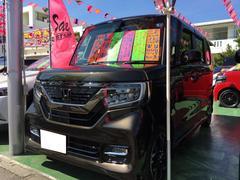 N BOXカスタムL ターボ ナビ フルセグTV 軽自動車