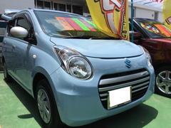 沖縄の中古車 スズキ アルトエコ 車両価格 49万円 リ済別 平成25年 6.9万K エアブルーメタリック